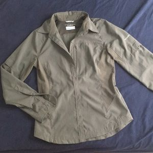 Columbia Button-Down Omni-Shade Long-Sleeved Shirt